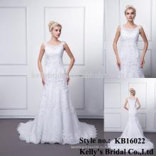 2016 новый стиль дизайн плюс Размер мусульманин анти-статический breathable Eco-содружественный модели свадебное платье платье для свадьбы