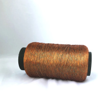 Knitting Use and semi dul Blended Yarn Type Core Spun Yarn 28S/2