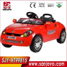 Paseo al por mayor de China en automóviles de batería con luces LED y paseo de la música en el coche de juguete conecta MP3 a jugar HT-99815