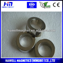 Дешевый спеченный NdFeB кольцевой магнитN35, N42, N50