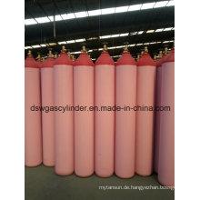99,9% Co Gas gefüllt in 40L Zylinder Gas Vol 20kg / Zylinder, Qf-2 Ventil