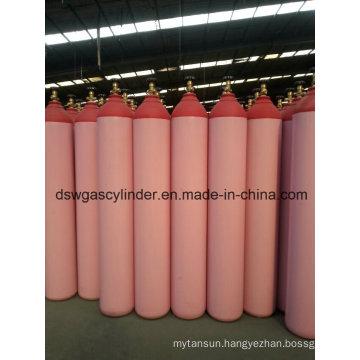 99.9% Co Gas Filled in 40L Cylinder Gas Vol 20kg/Cylinder, Qf-2 Valve