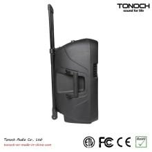 Fábrica de fornecimento 10 polegadas Plastic Trolley Stage Speaker com bateria