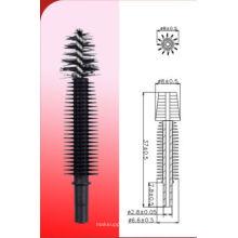 Silikon Doppel-Faser-Wimperntusche Pinsel