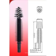 Silicone Double fiber type mascara brush