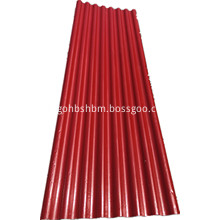 Red Anti-Corrosion High Strength Mgo Roofing Sheet