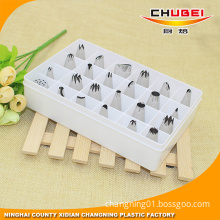 Chinese Supplier Best Value DIY 24pcs Cake Decoration Pastry Tubes Set