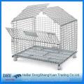 Foldable Metal Storage Cage for Pallet Racks