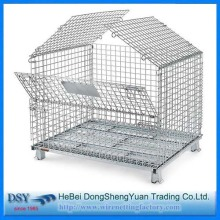 Heavy-duty Steel Wire Storage Cage