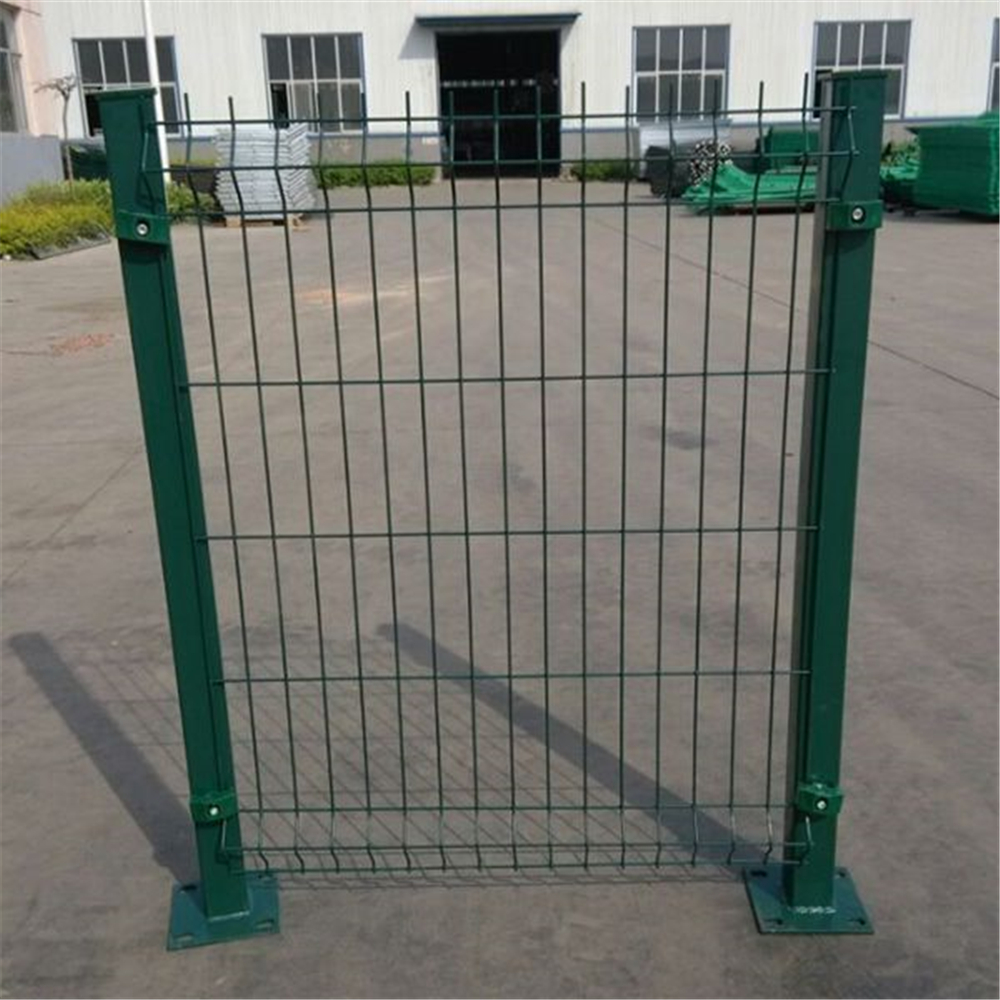 Square Hole Residential Ornamental Wire Mesh Fence