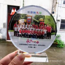 Solar Flower Crystal Medal Awards Souvenir Craft