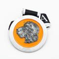 Medalla del maratón de shanghai de la forma del cheongsam del metal