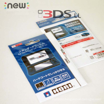 Ultra Thin Screen Protector Film for Nintendo New 3DSXL Screen Protector for new 3dsll 3DS XL LL