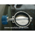Stainless Steel Wafer Butterfly Valve (D71X-10/16)