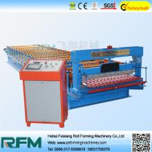 Maquina de painel de telhado de papelão ondulado