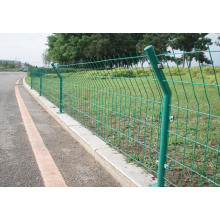 High Quality PVC Coated Bilateral Welded Wire Fence