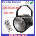 remote control mini DMX 80w RGBW cob par can light price
