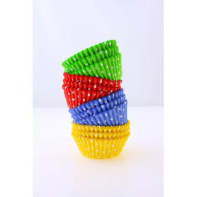 Cute Polka Dots Colorful Baking Cup
