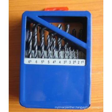 19PCS HSS Twist Drill Set