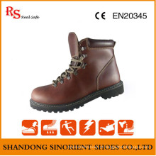 Crazy Horse Leather Rigger Safety Boots RS705