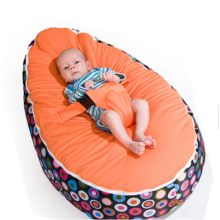 Comfortable beanbag chair baby slepping bed