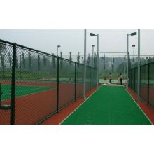Green Powder Coated Chain Link Fence
