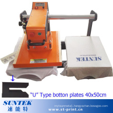 Top Sliding Pneumatic Heat Transfer Machine with U Type