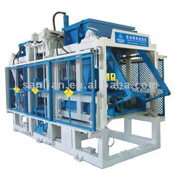 Maquinaria de fabricación de ladrillos de hormigón