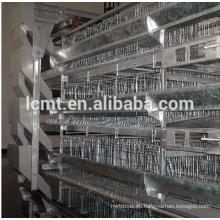 Diseño de jaulas de pollos para asador de aves de 5000 aves