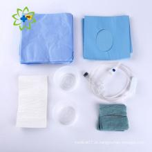 Kits descartáveis de emergência médica cirúrgica de campo estéril