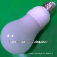 2014 alibaba best seller CE & RoHS aprobado 220v 110v 12-24v 12v dc B22 E26 E27 E14 3w llevó la iluminación del bulbo