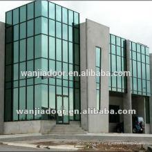 Venda quente parede de vidro de Alumínio WJ-cortina de parede-01