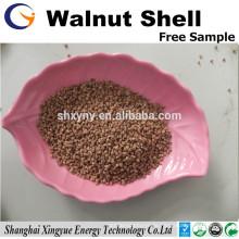 16-30 Mesh Granular Walnut Shell Filter Medien zum Entfernen von Öl aus Wasser