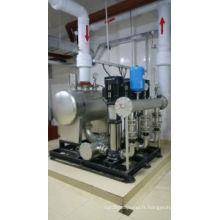 Pression négative non fréquence Variable pression constante eau pompe d'alimentation matériel