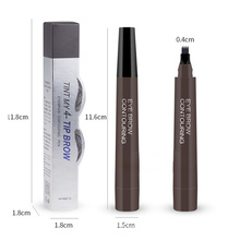 Wholesale Microblading Pen Fine Sketch Fork Tip Eyebrow Liquid Eyebrow Gel Makeup Best Quality Eyebrow Pencil