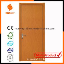 Wooden Main Door Design with Competitive Price