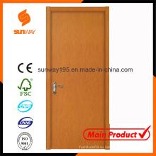 Деревянный дизайн главной двери с конкурентоспособной ценой