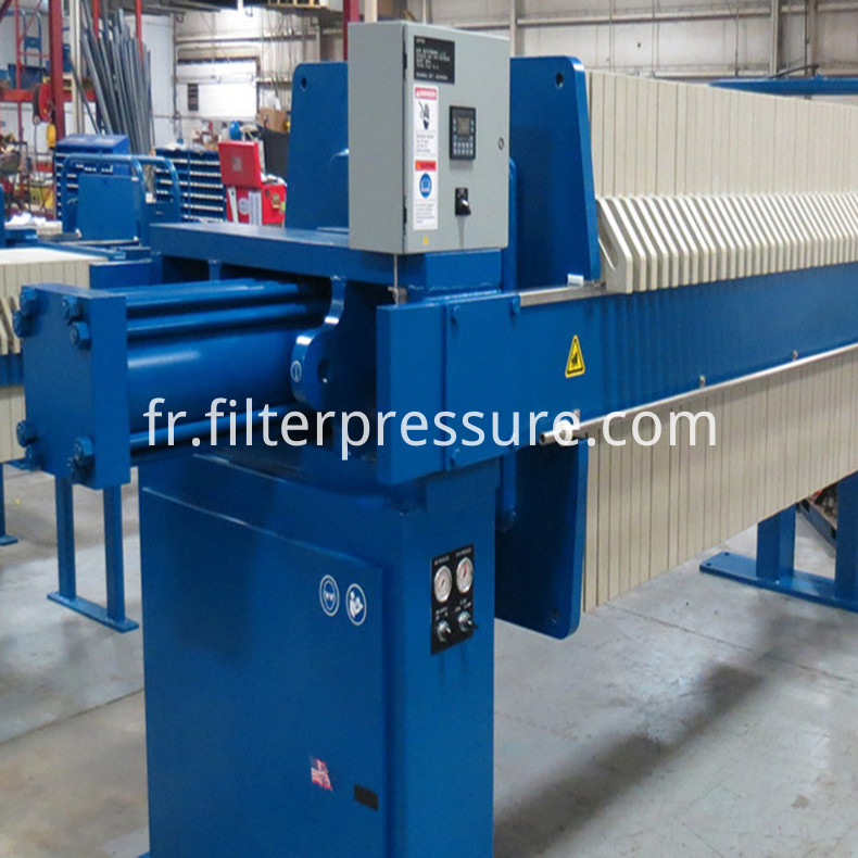Cake Discharge Efficiency Filter Press