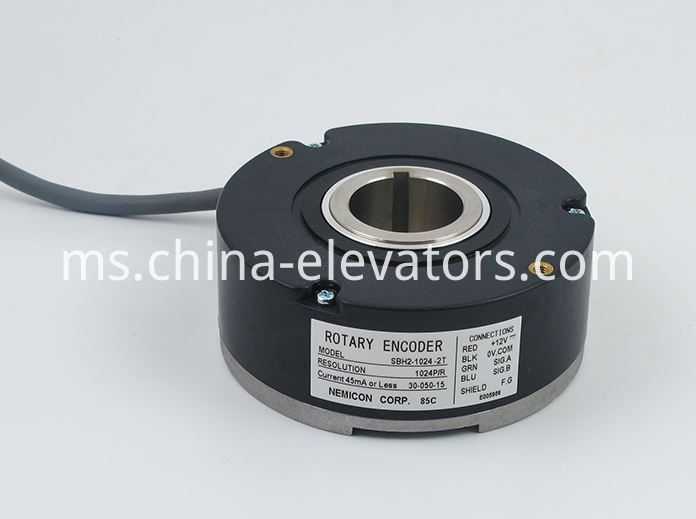 NEMICON Rotary Encoder for Elevator Geared Traction Machine SBH2-1024-2T