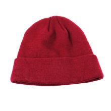 Meninas carismáticas chapéu de malha vermelho