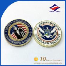 Индивидуальный дизайн монеты разного цвета с узором с эмалью производитель монету