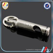 Metal Unique Blank bullet Porte-bouteille Keychain