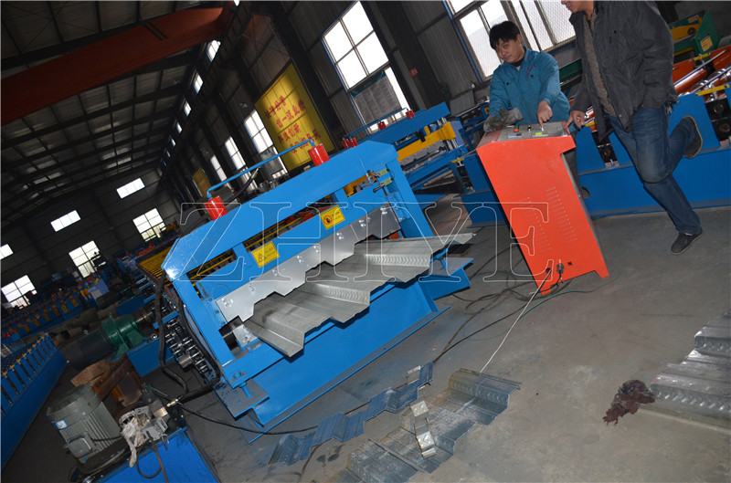 Mesin Gaya Baru PPGI Galvanized Floor Decking Machine