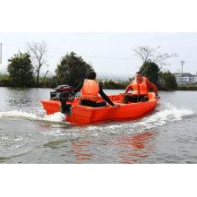 8 personnes chinois PE bateaux lac de pêche pas cher en plastique bateau à vendre