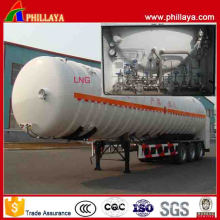 Various Capcities Tri-Axle Attractive Priced LNG Tank Semi Trailer