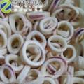 Limpeza de pele de anel de lula congelada em tratamento da ue de fabricação de frutos do mar