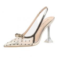 Fashion 2021 Summer Sandals Transparent Sandals Woman Sexy Ladies Party Club Dress Shoes
