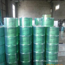 Hoja / rollo de PVC transparente verde flexible