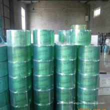 Feuille de rideau de PVC vert doux / petit pain