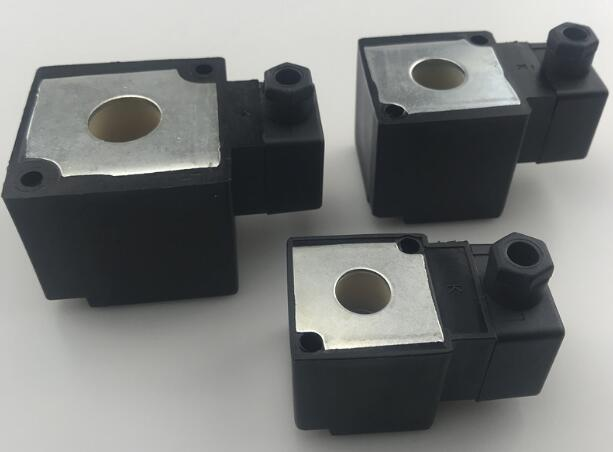 Standard stock of 17.5mmx50.5mmx44mm Pilot Valve Solenoid Coils